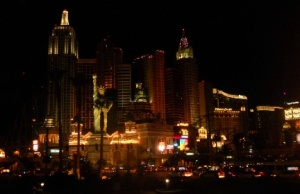 New York Casino at Night