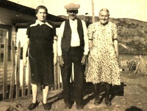 cousin, grandpa & grandma